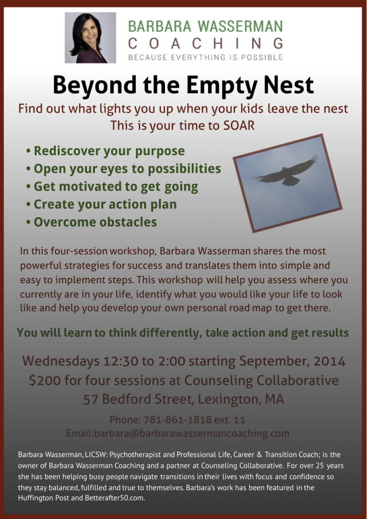 Empty Nest Workshop Fall 2014
