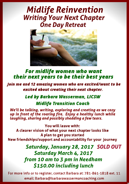 Midlife Reinvention Retreat